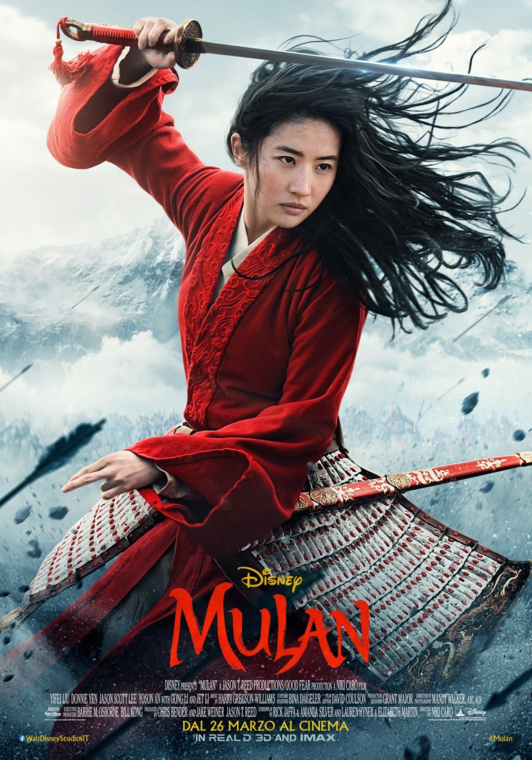 Mulan trailer italiano trama e cast