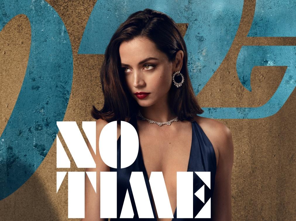 Ana De Armas Bond girl in No Time to Die