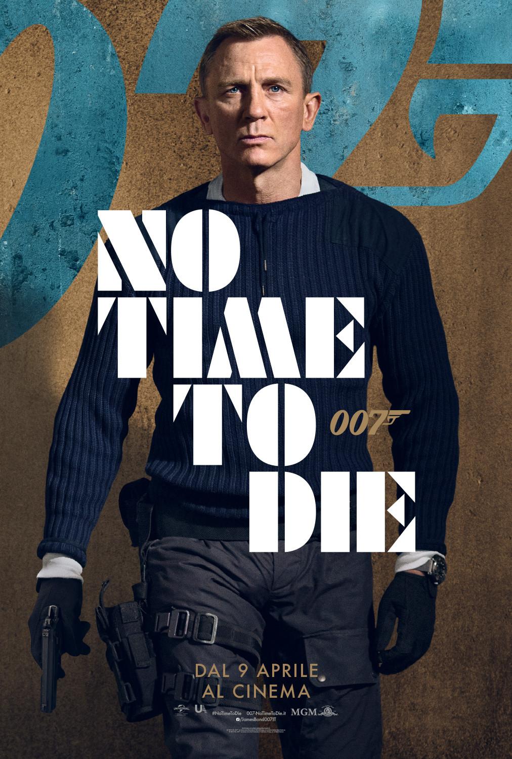 Daniel Craig: Il Poster di Bond 25