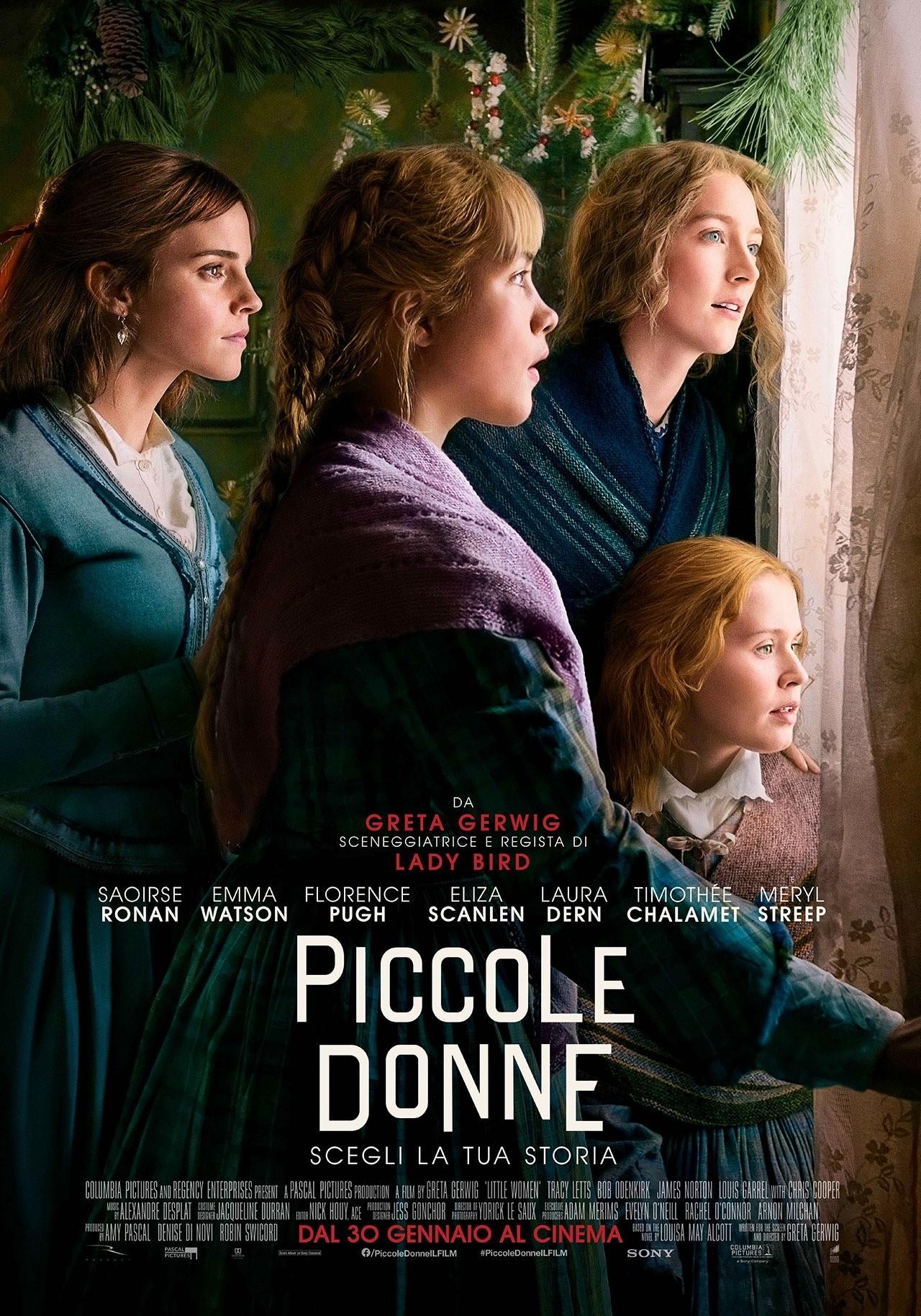 Piccole donne: il poster
