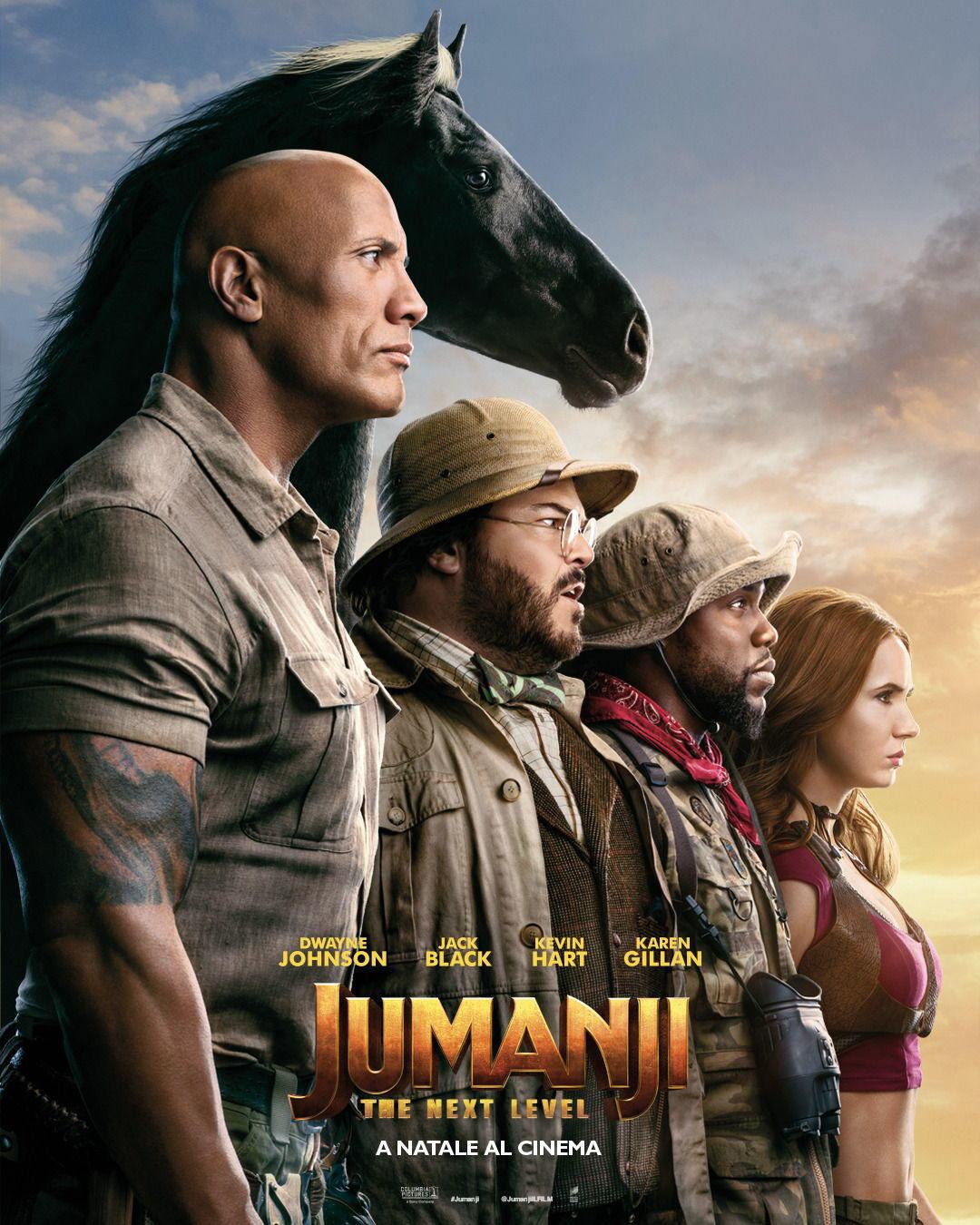 Jumanji 2: The Next Level recensione