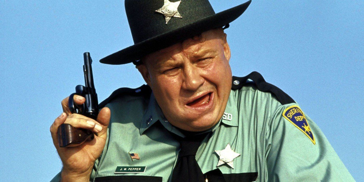 Clifton James è lo Sceriffo Pepper in Live and Let Die