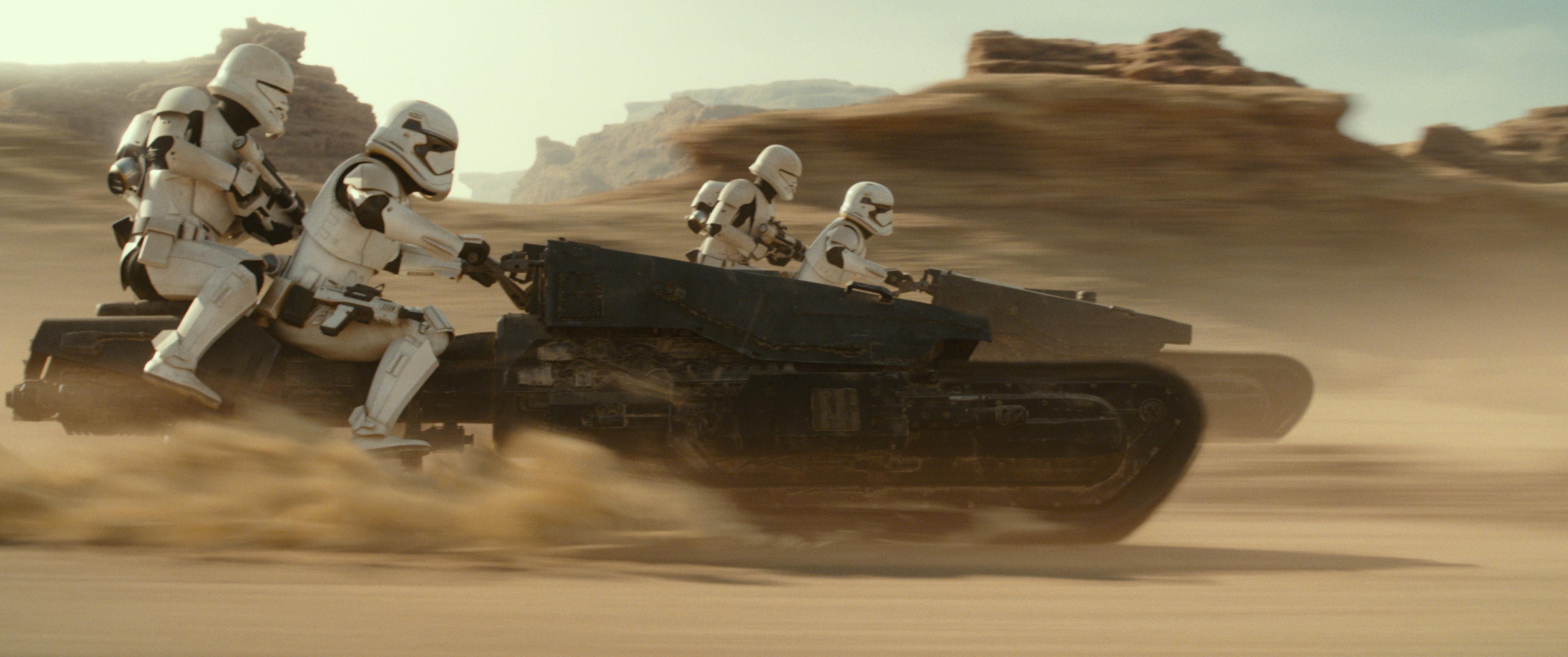 Gli Stormtrooper non mollano