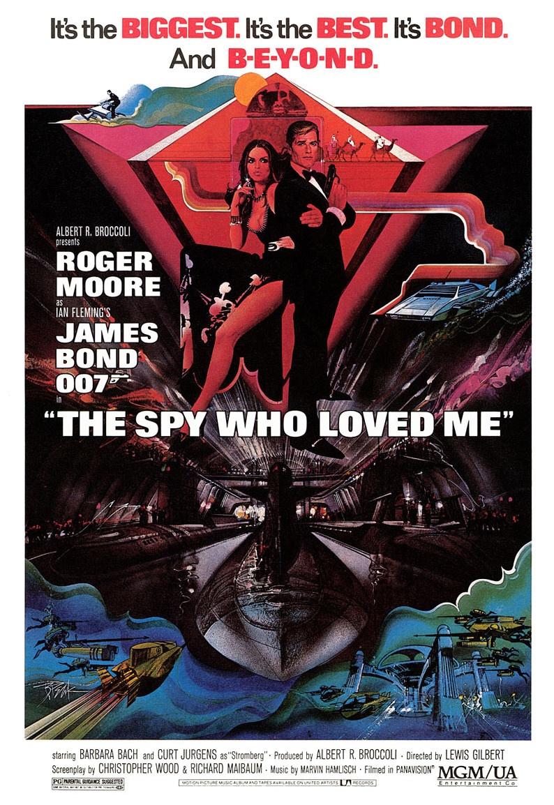 Il poster originale de La spia che mi amava