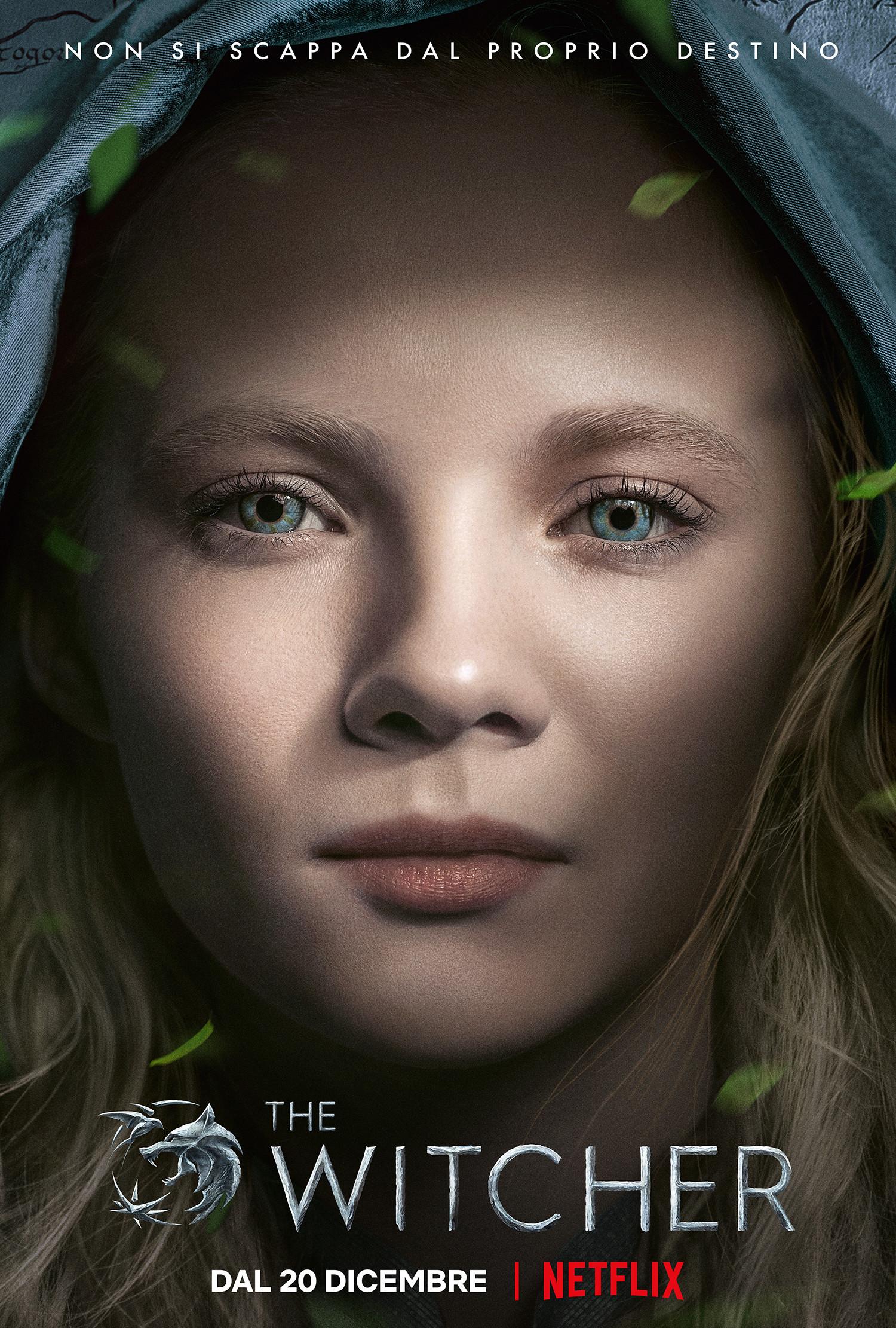 The Witcher: il poster della principessa Cirilla
