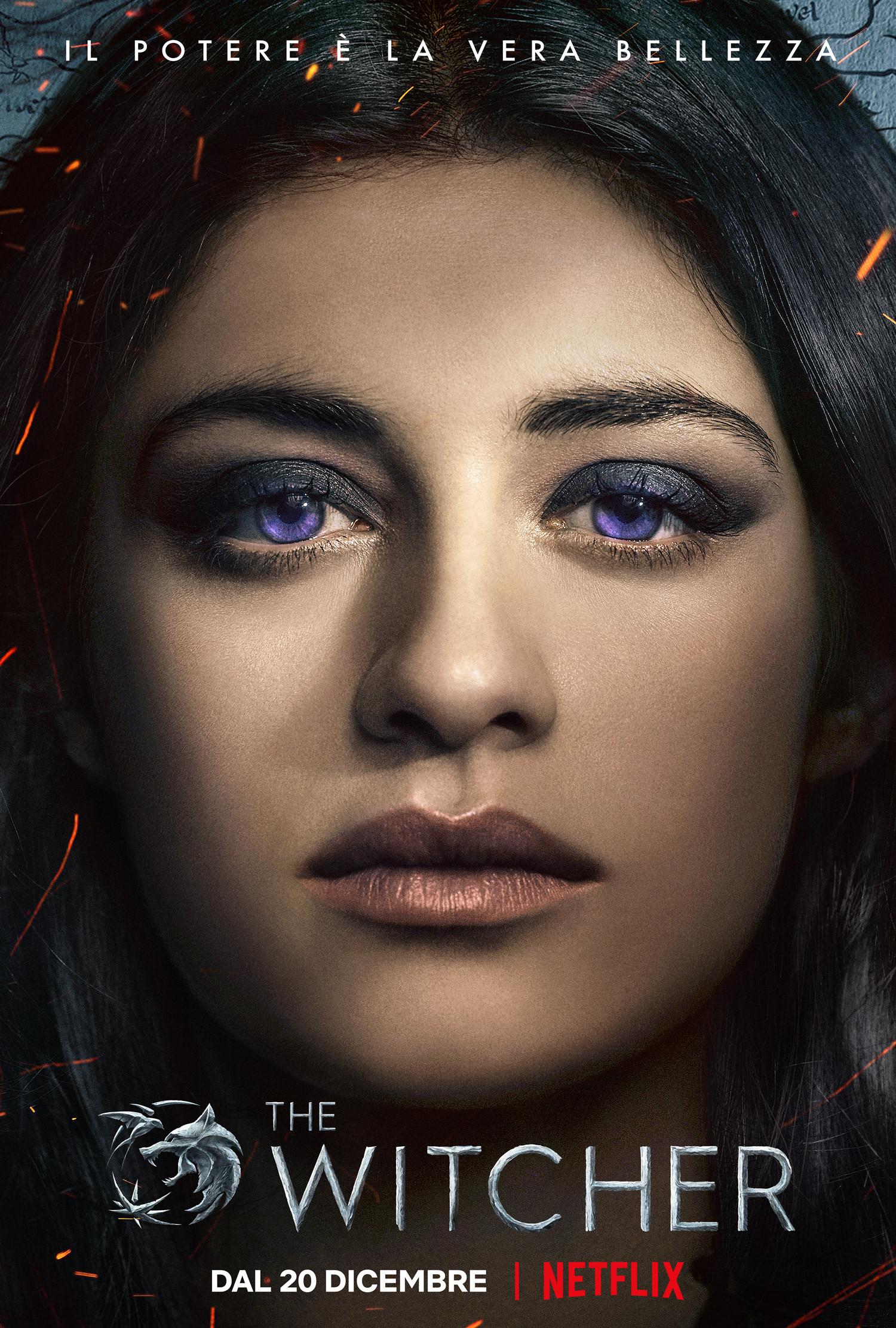 The Witcher: il poster di Yennefer di Vengerberg
