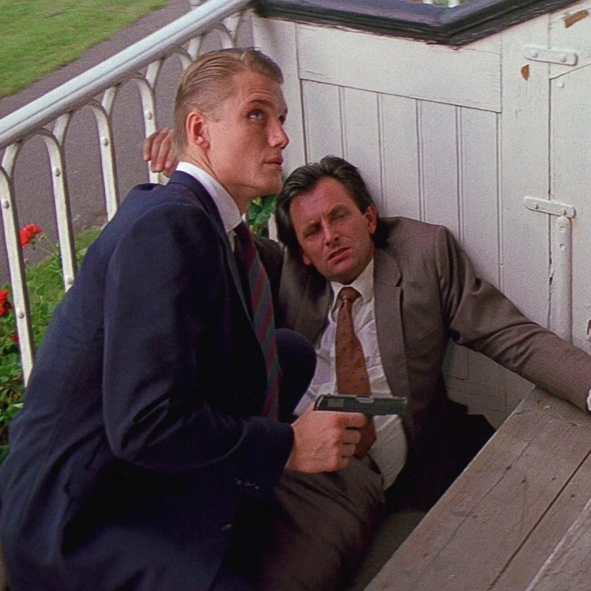 Dolph Lundgren agli esordi in 007- Bersaglio Mobile