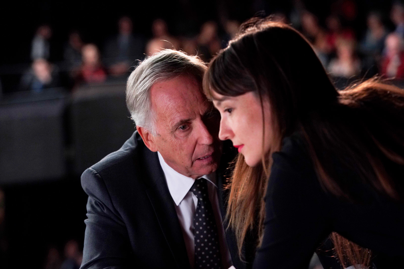 Fabrice Luchini e Anaïs Demoustier