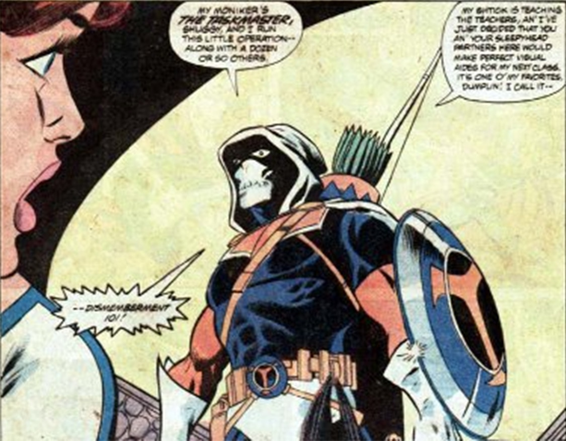 Black Widow: il villain Taskmaster
