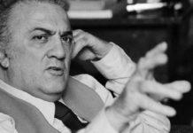 Federico Fellini centenario programmazione in TV