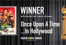 Golden Globe 2020: C'era una volta a... Hollywood Miglior Commedia