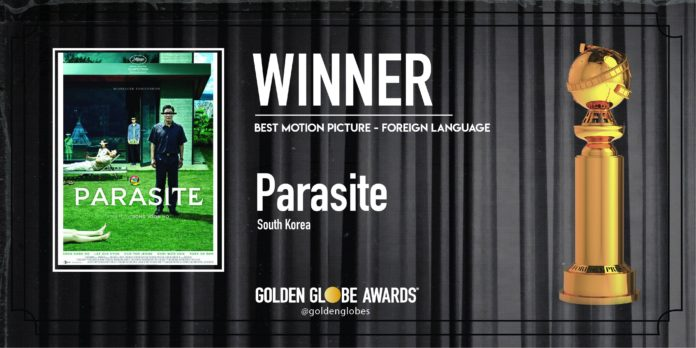 Golden Globe 2020: Parasite Miglior Film Straniero