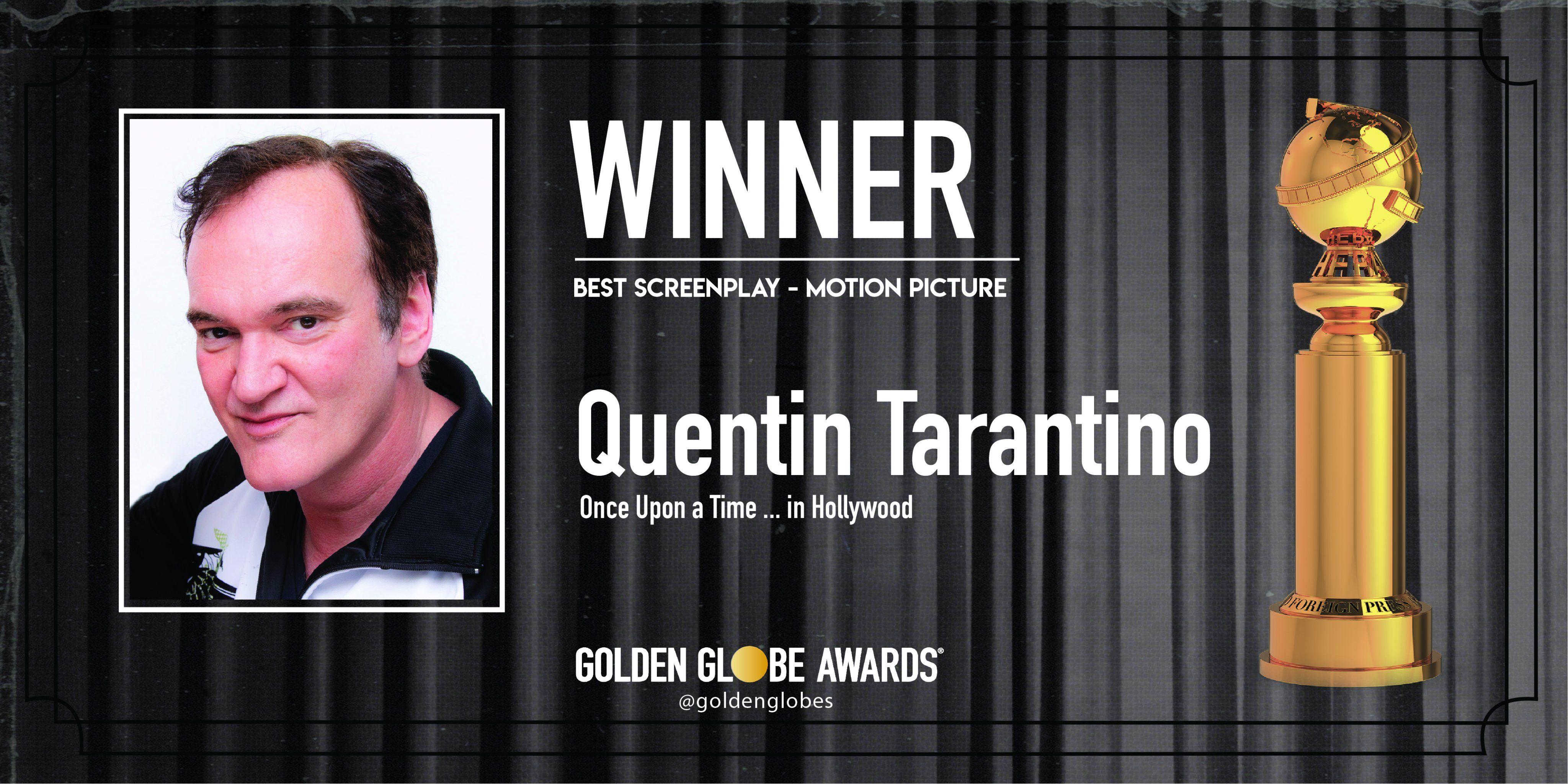 Quentin Tarantino Migliore Sceneggiatura