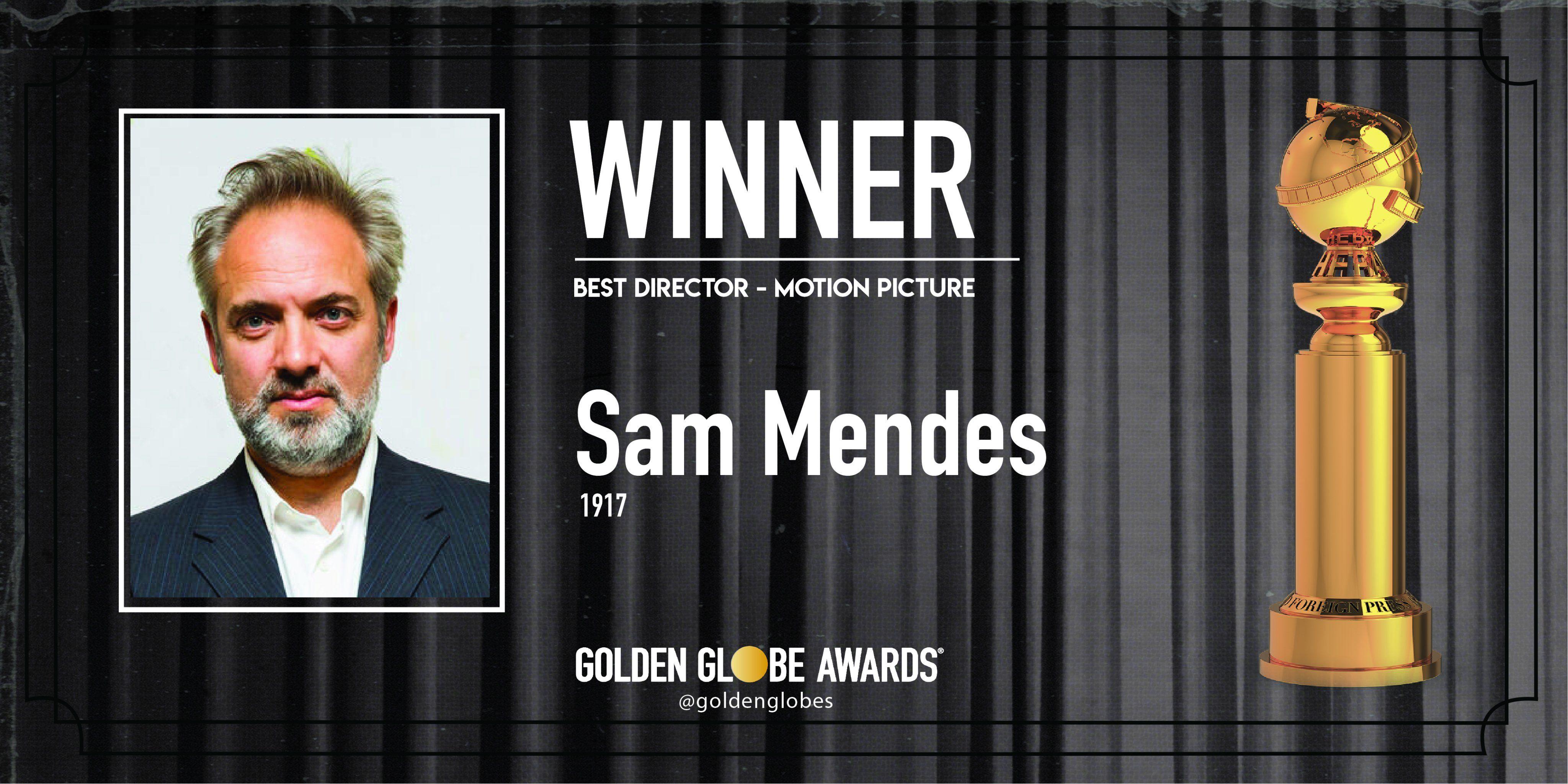 Golden Globe 2020: Sam Mendes Miglior Regista