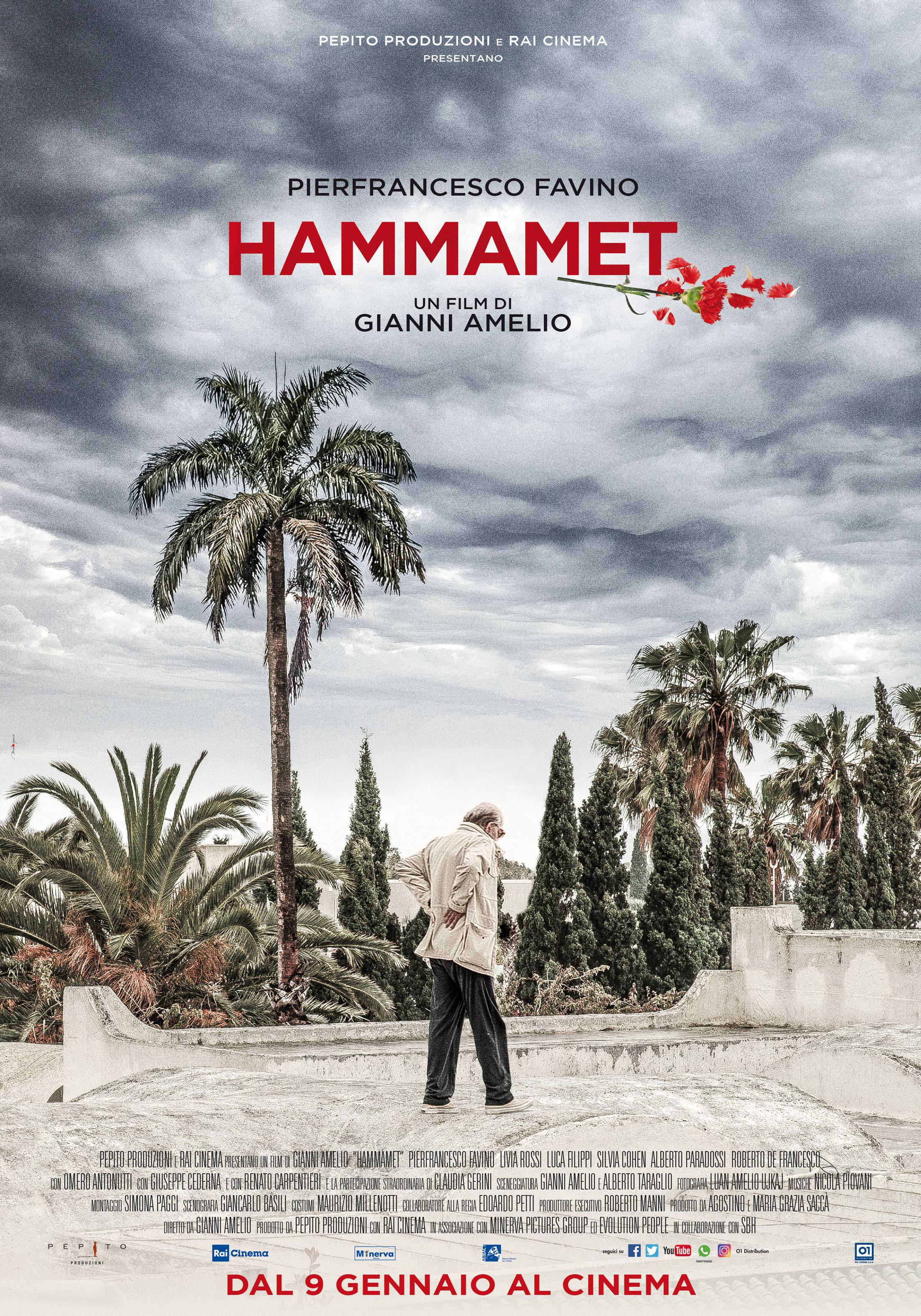 Hammamet: Il Poster