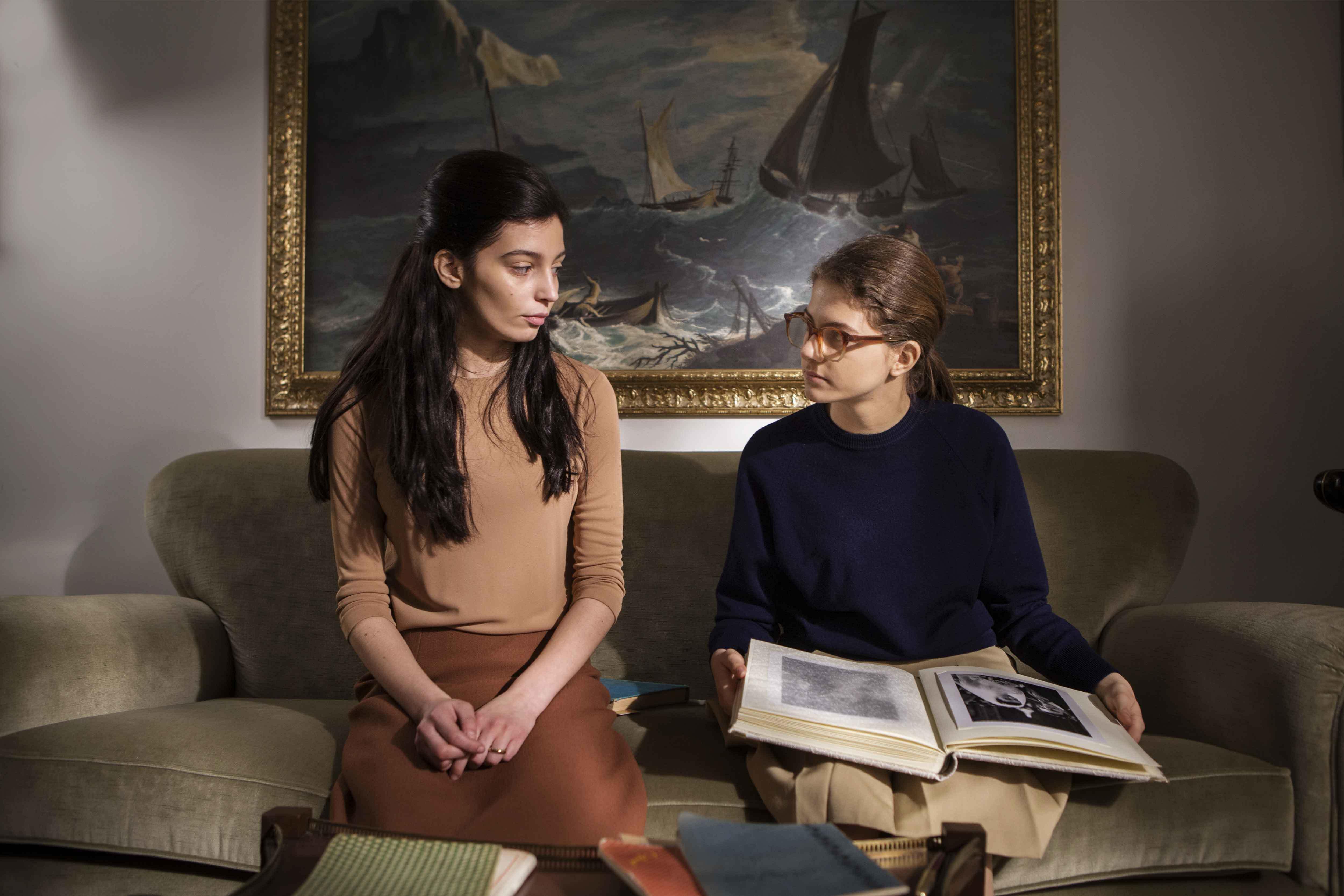 Gaia Girace e Margherita Mazzucco