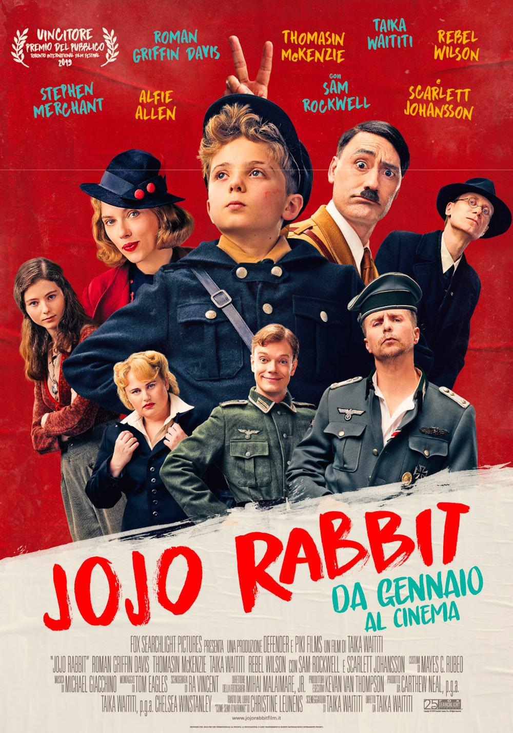Jojo Rabbit: il poster