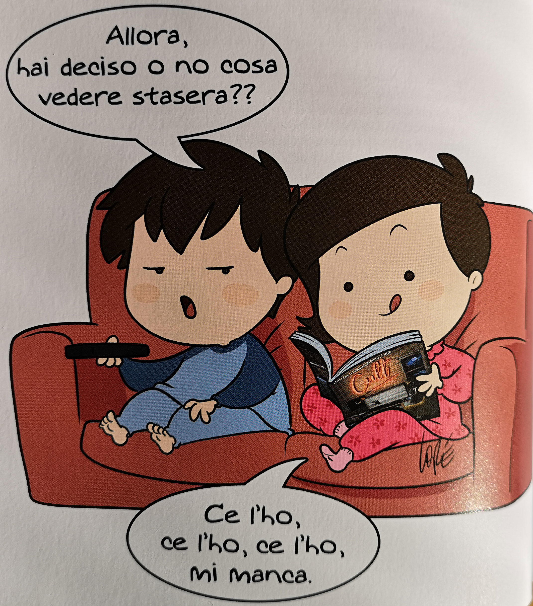 Lorenza Di Sepio vignetta