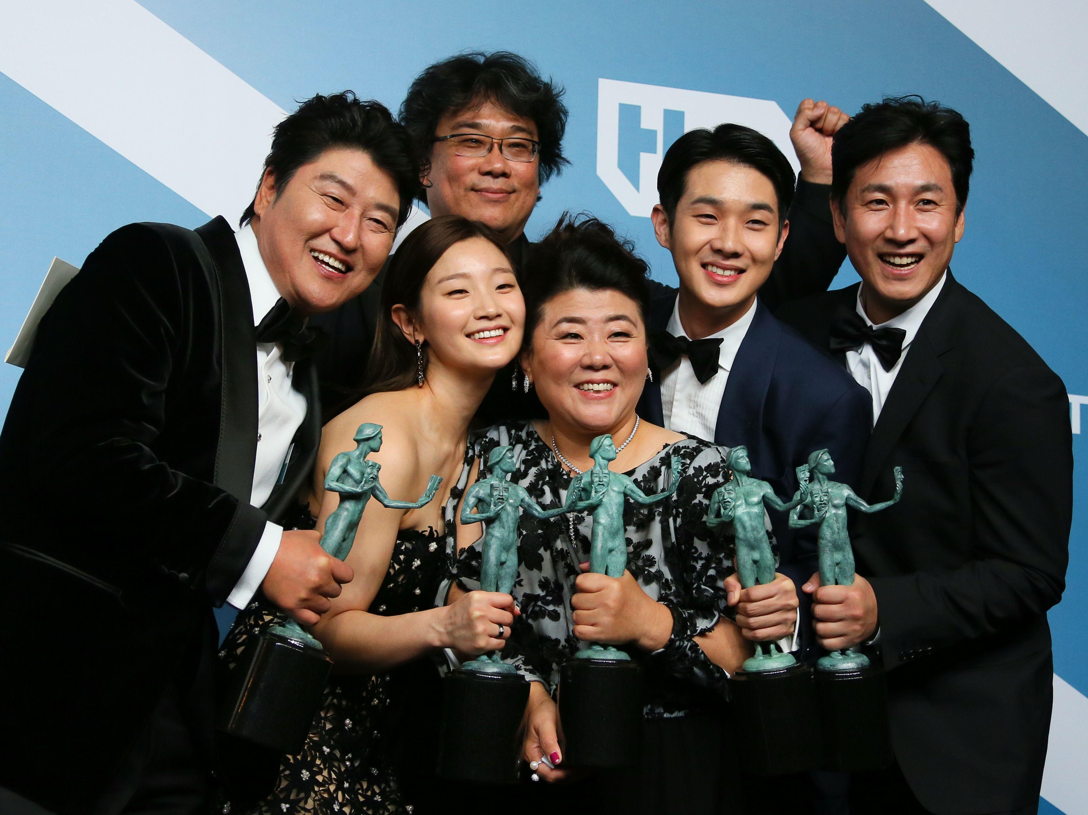 Parasite miglior cast ai SAG Awards 2020