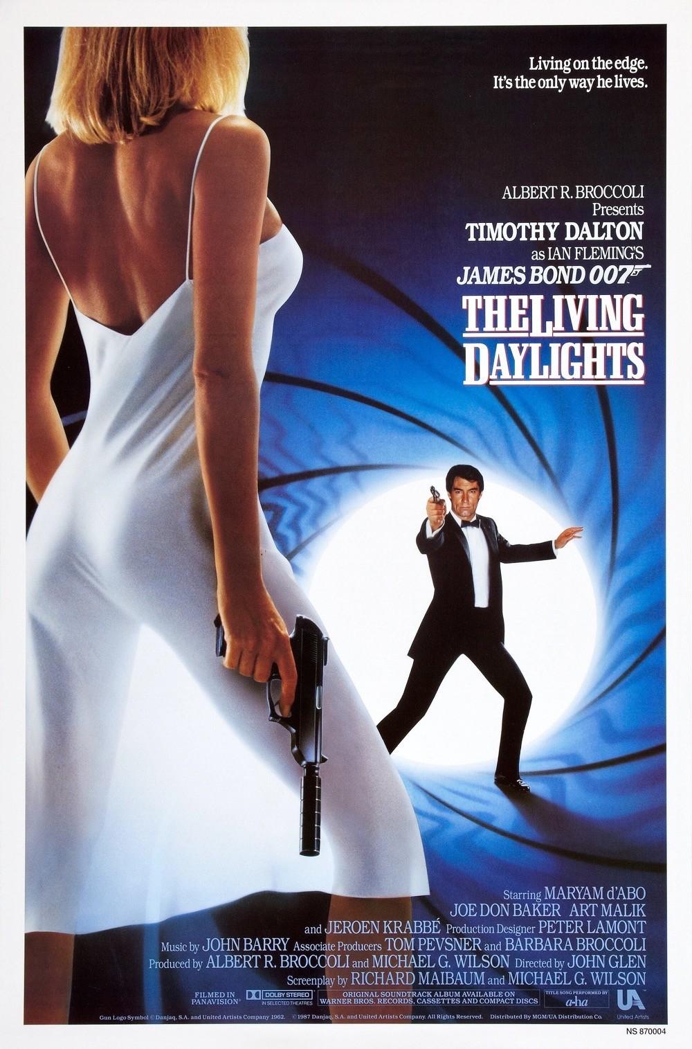 Il poster di The Living Daylights - 007 Zona Pericolo