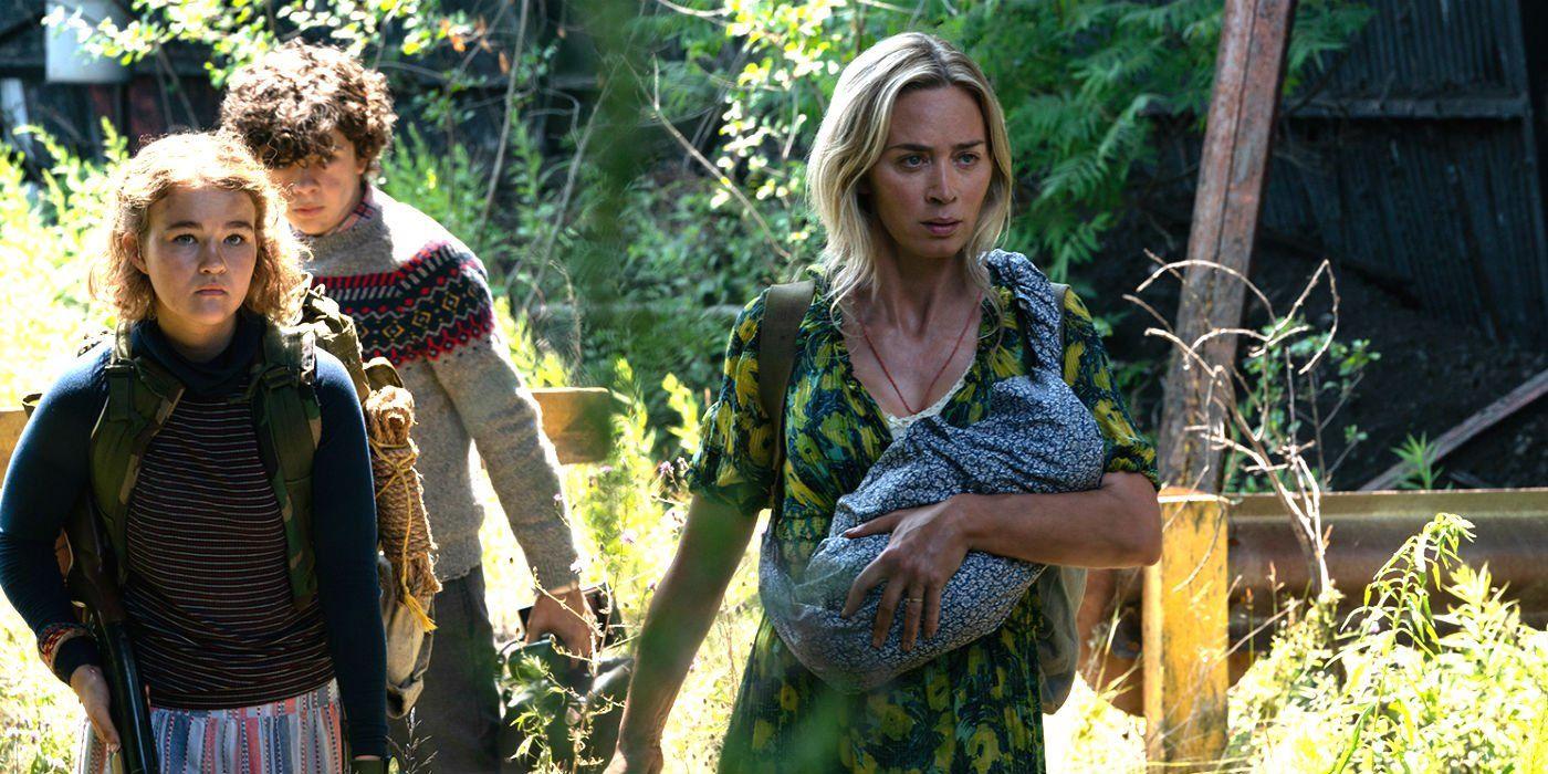 A Quiet Place 2 trailer italiano trama e cast