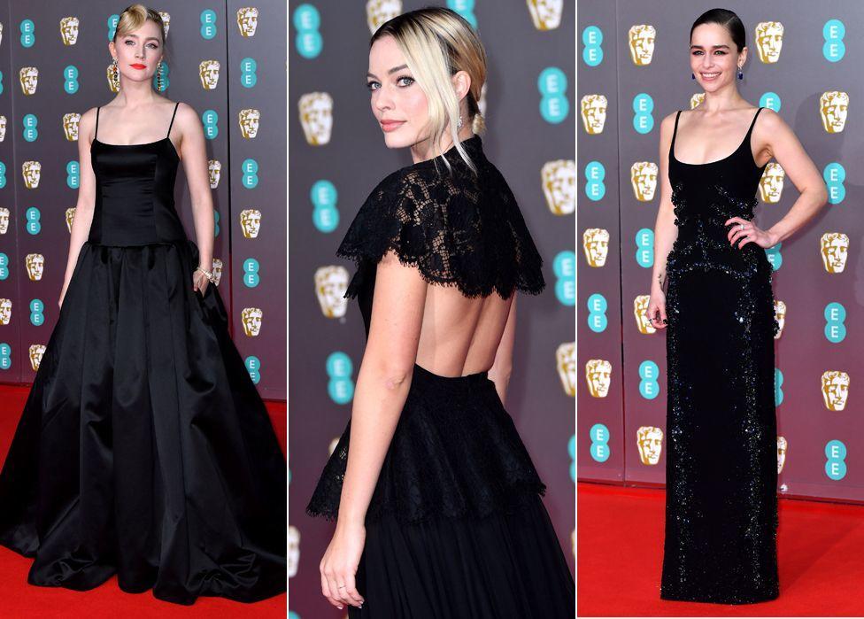 Saoirse Ronan, Margot Robbie e Emilia Clarke