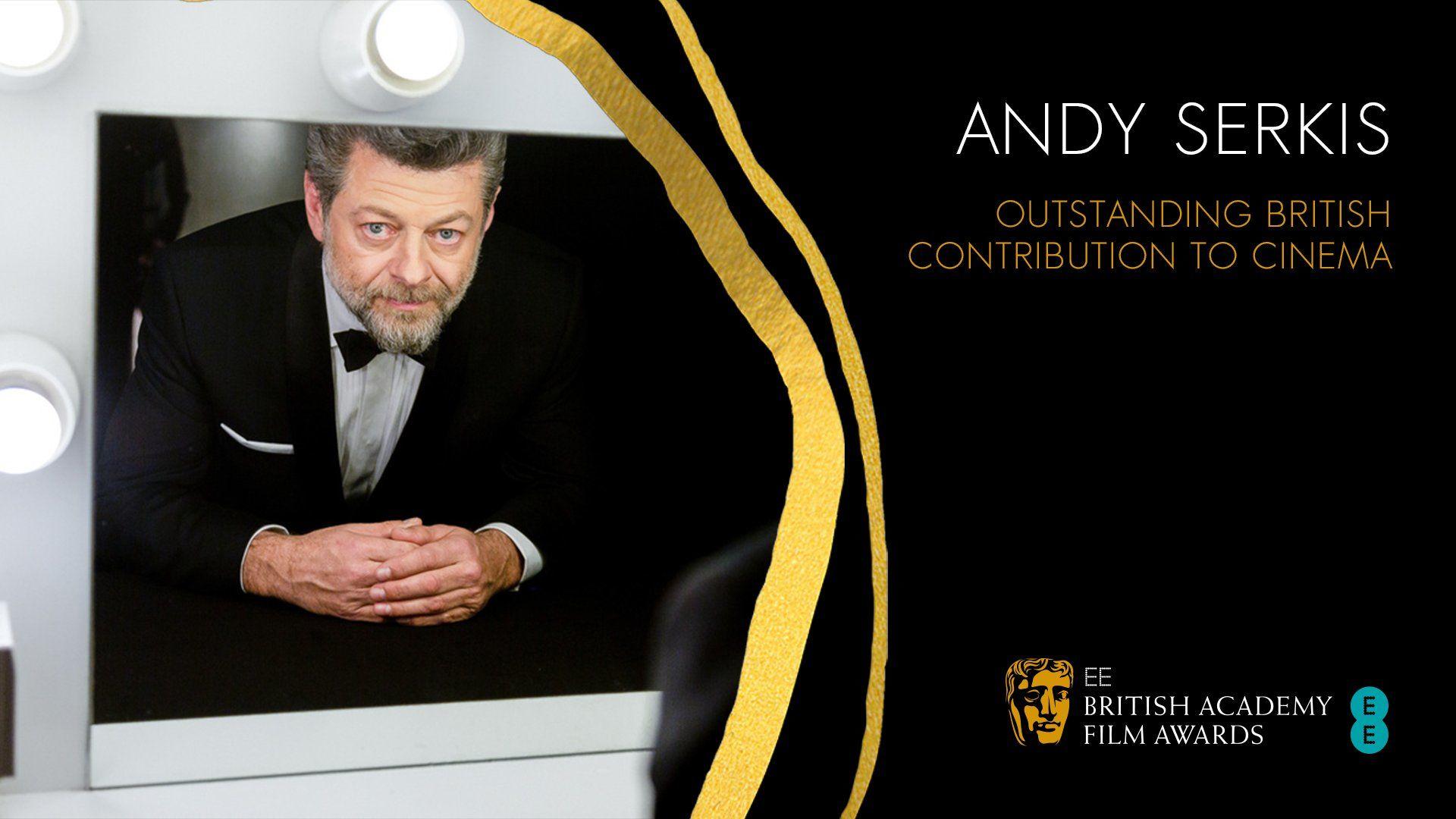 Andy Serkis premiato ai BAFTA 2020