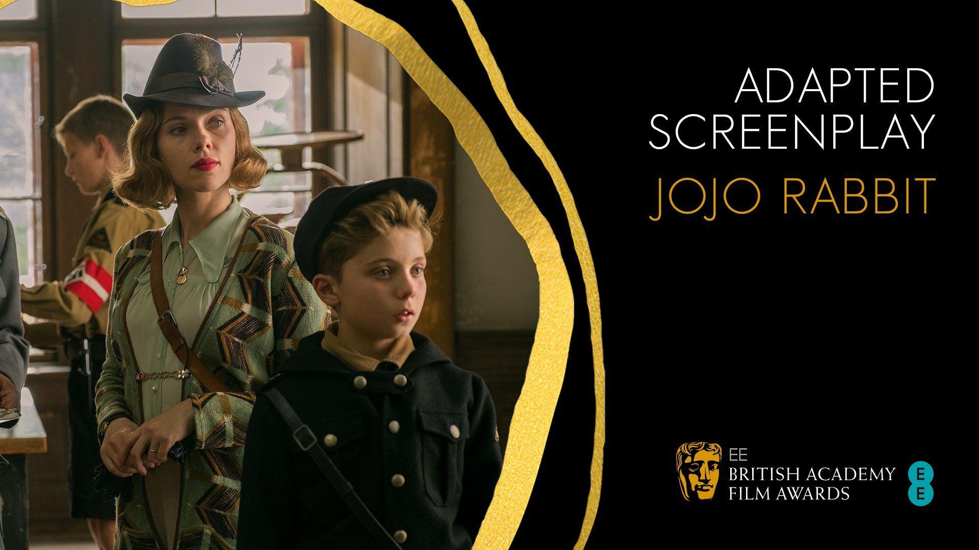 Jojo Rabbit Migliore Sceneggiatura Adattata ai BAFTA 2020