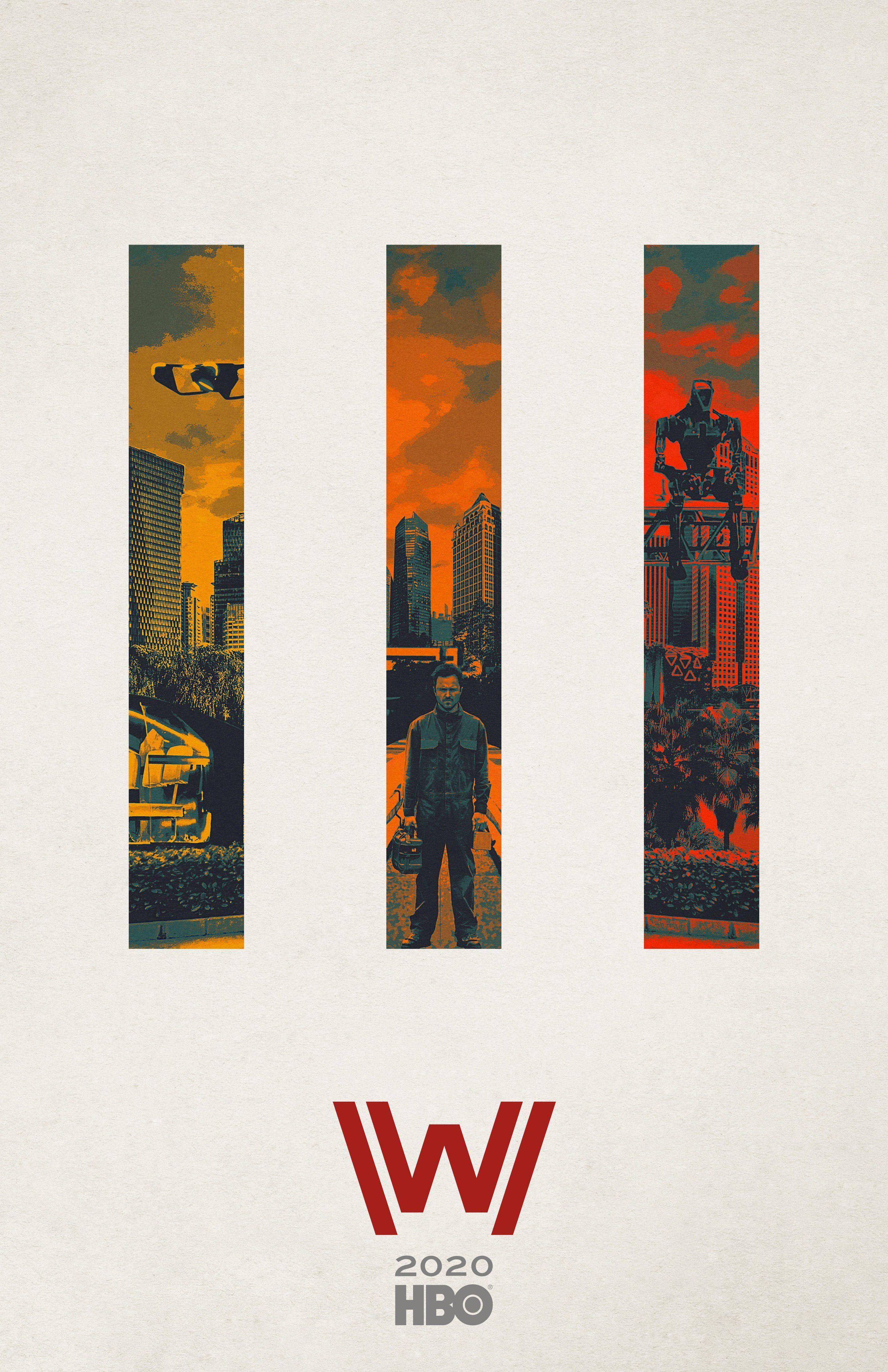 Westworld 3: Il Poster