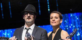 Olivier Masset Depasse e Veerle Baetens, trionfatori con Doppio Sospetto (Duelles) ai Magritte Du Cinéma