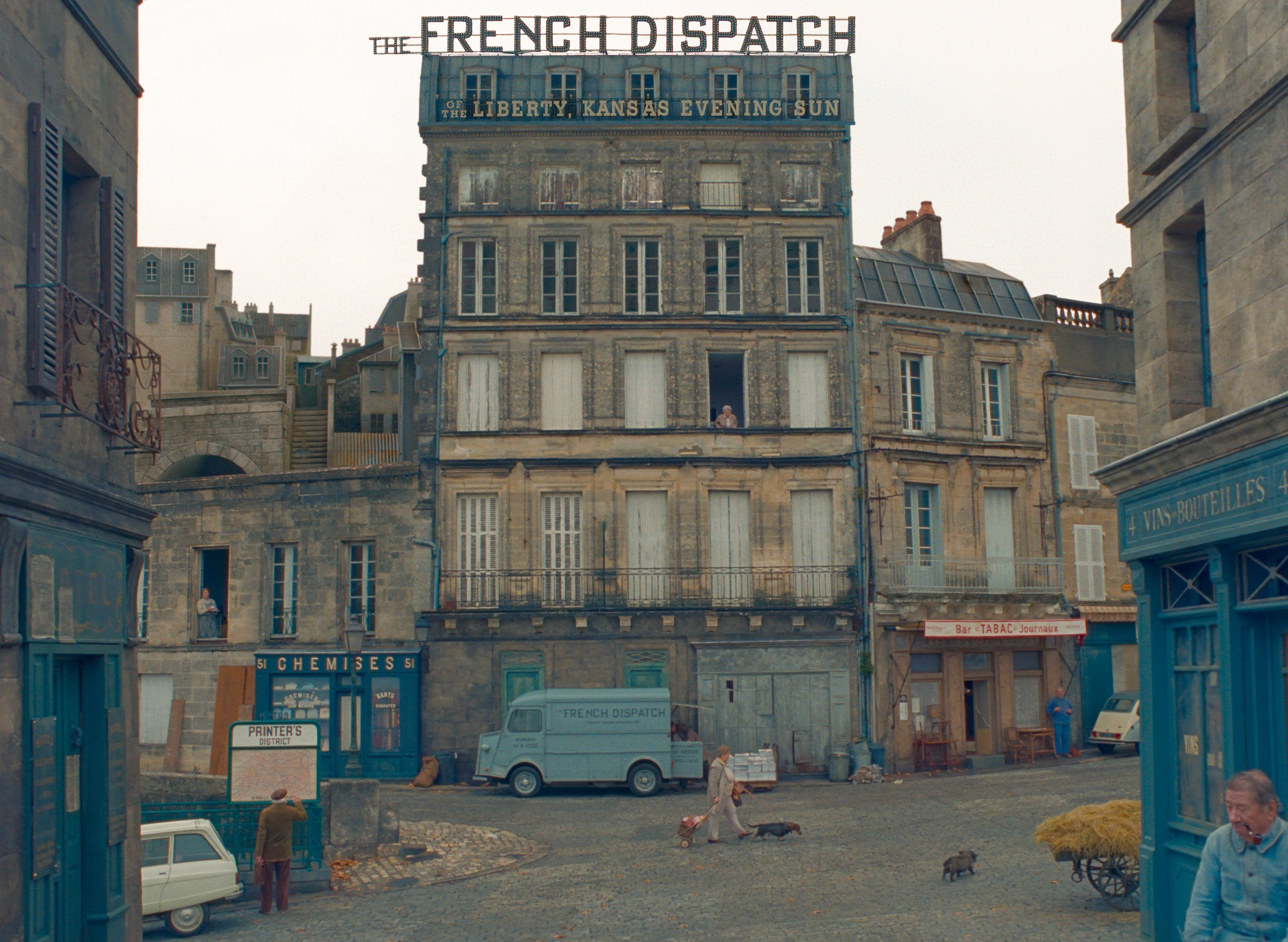 The French Dispatch trailer cast e trama