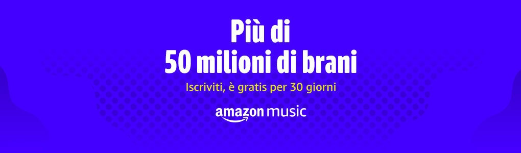Iscriviti gratis ad Amazon Music