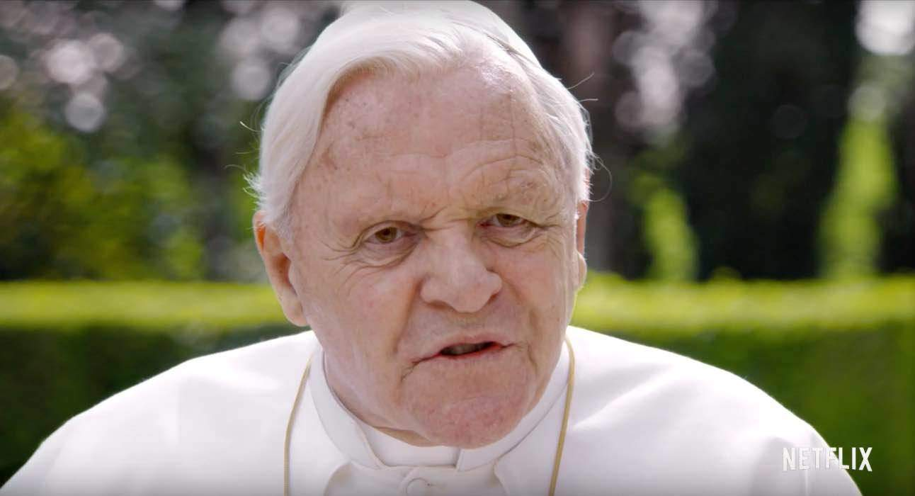 Anthony Hopkins alla sua quinta nomination agli Oscar per I due Papi