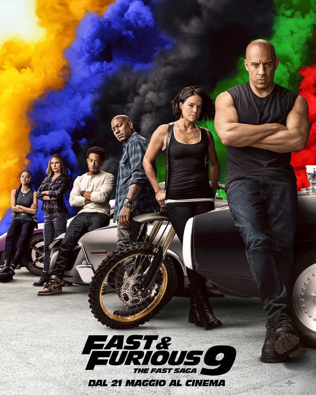 Fast & Furious 9: trailer italiano trama e cast