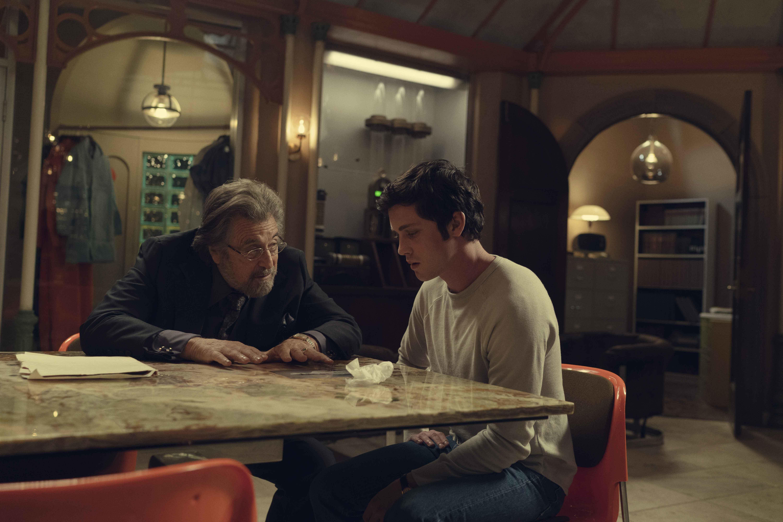 Al Pacino e Logan Lerman