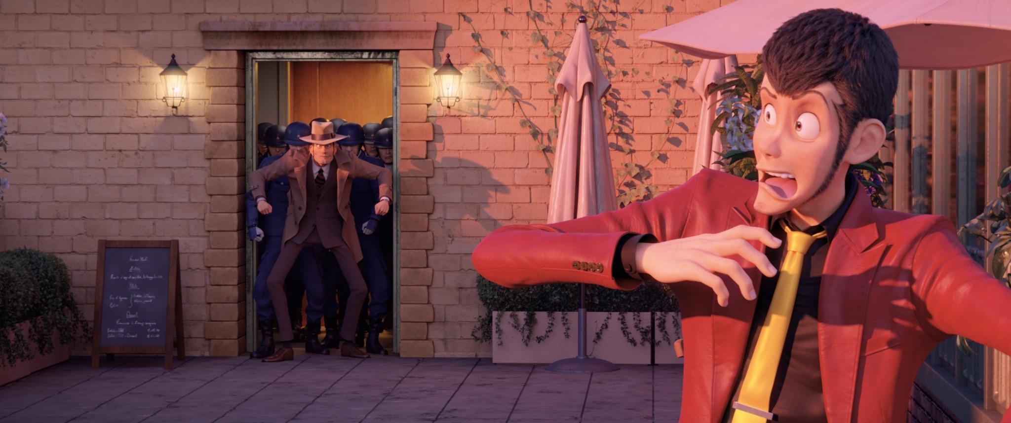 Zenigata cerca di acciuffare Lupin III