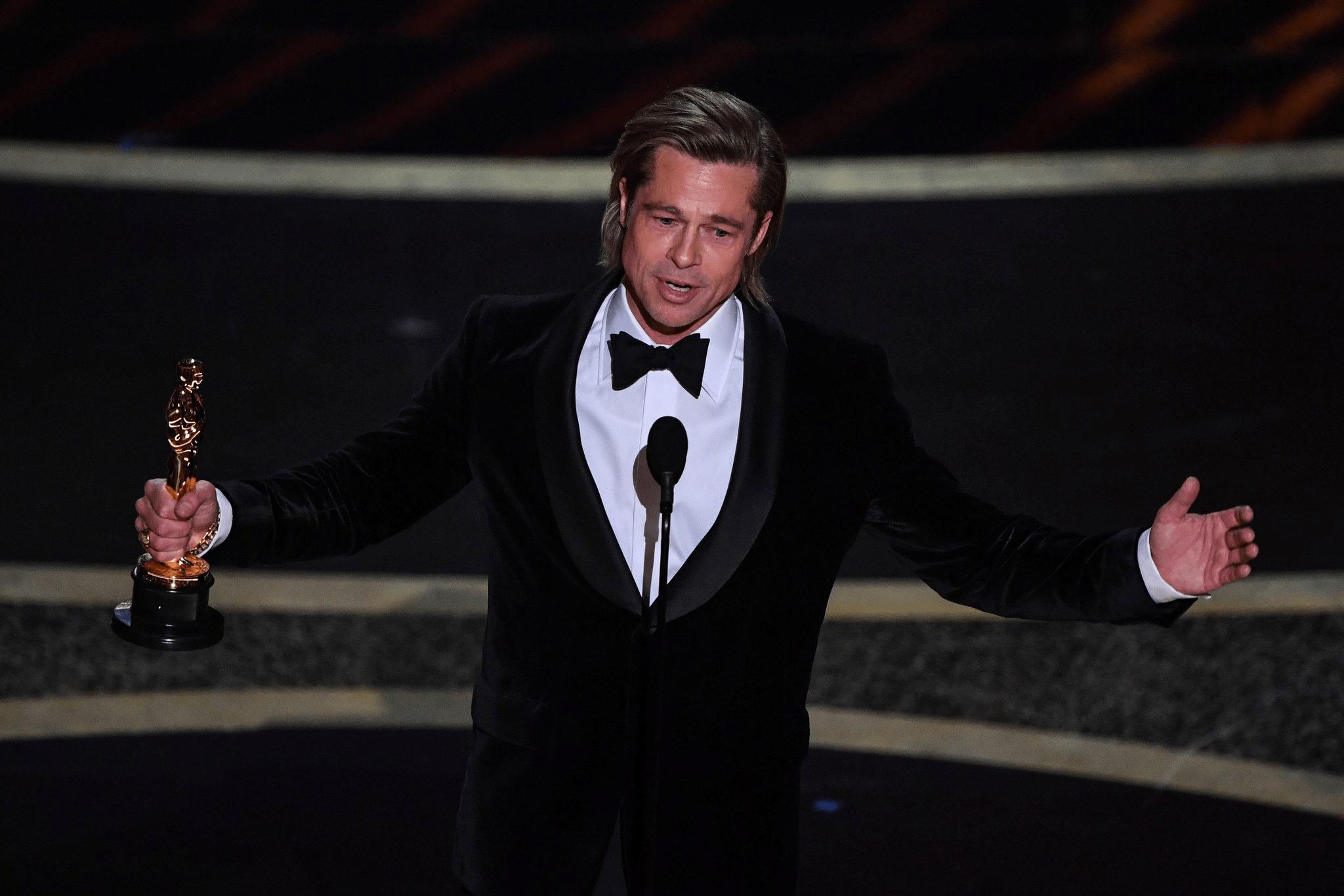 Oscar 2020: Brad Pitt Miglior Attore Non Protagonista