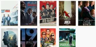 Oscar 2020: dove vedere i film nominati