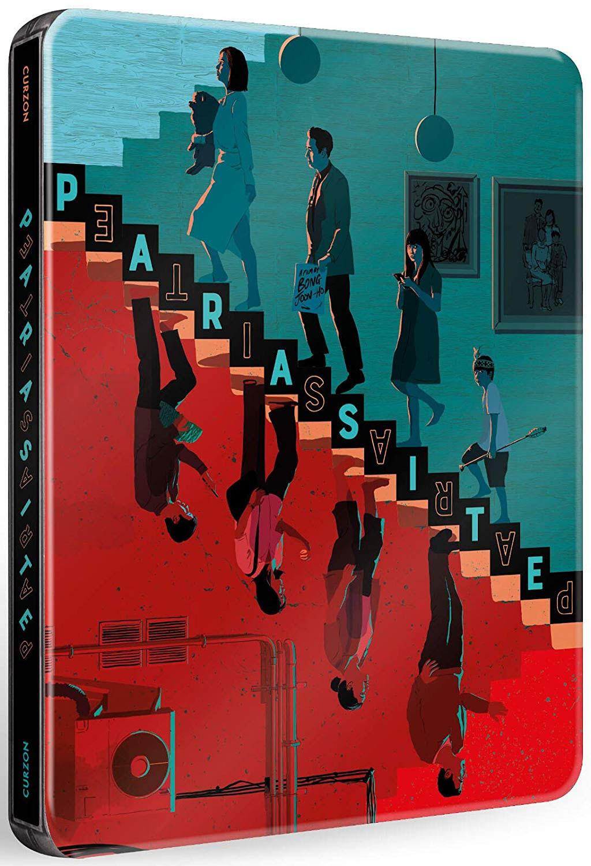 Parasite steelbook Blu-ray + Dvd Scanavo