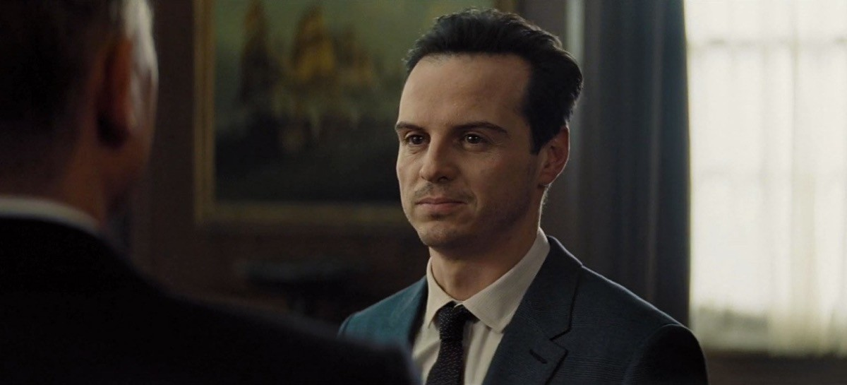 Andrew Scott è Max Denbigh, alias C, in Spectre