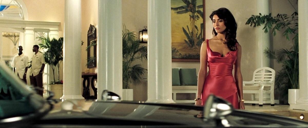 Caterina Murino nel ruolo di Solange in Casino Royale