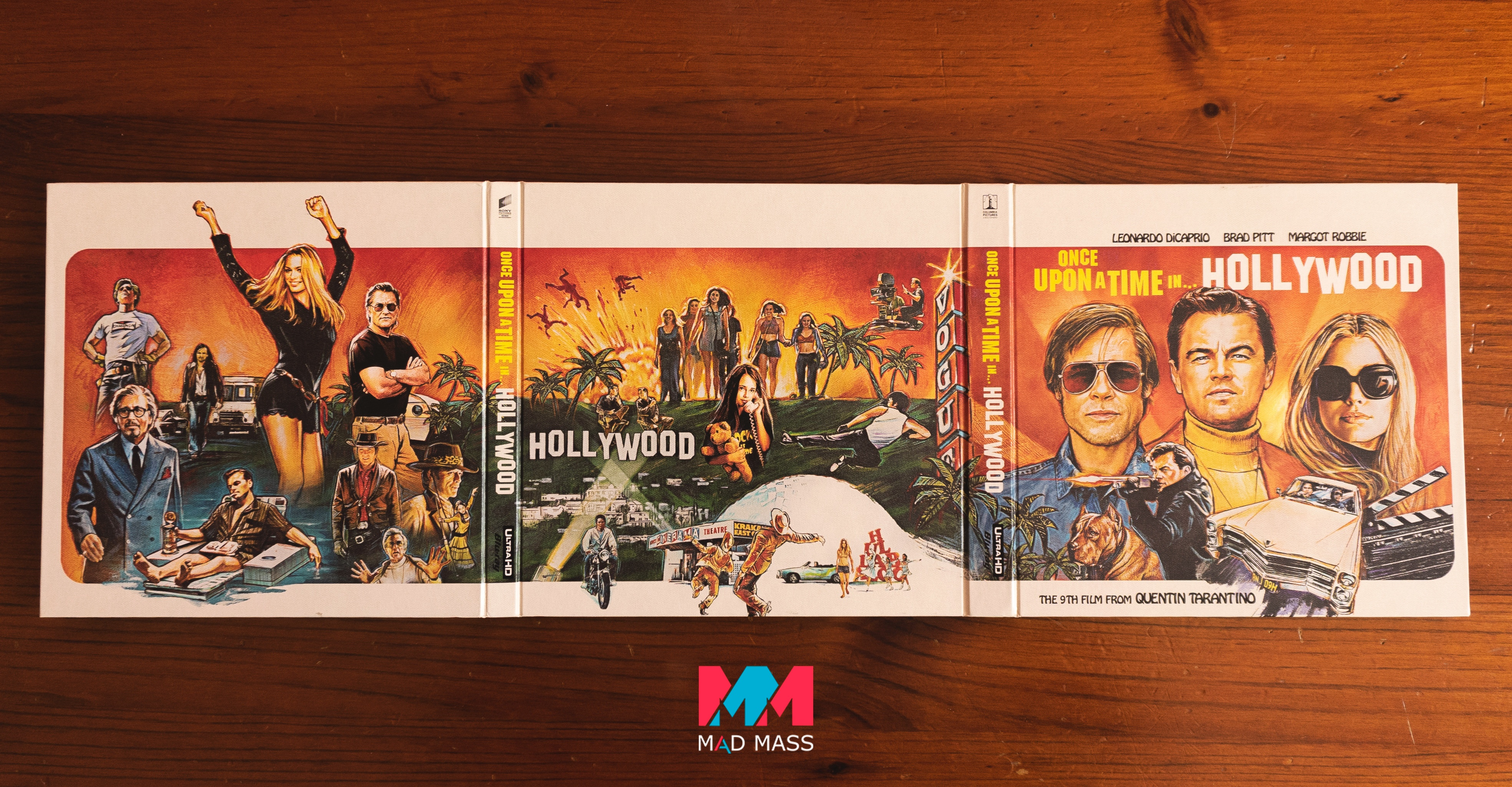 C'era una volta a Hollywood Vinyl Edition Blu-ray 4K