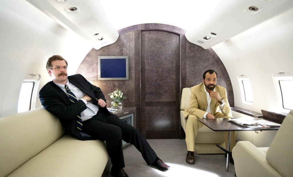 Facce da CIA: Gregg Beam (David Harbour) e Felix Leiter (Jeffrey Wright) in Quantum of Solace