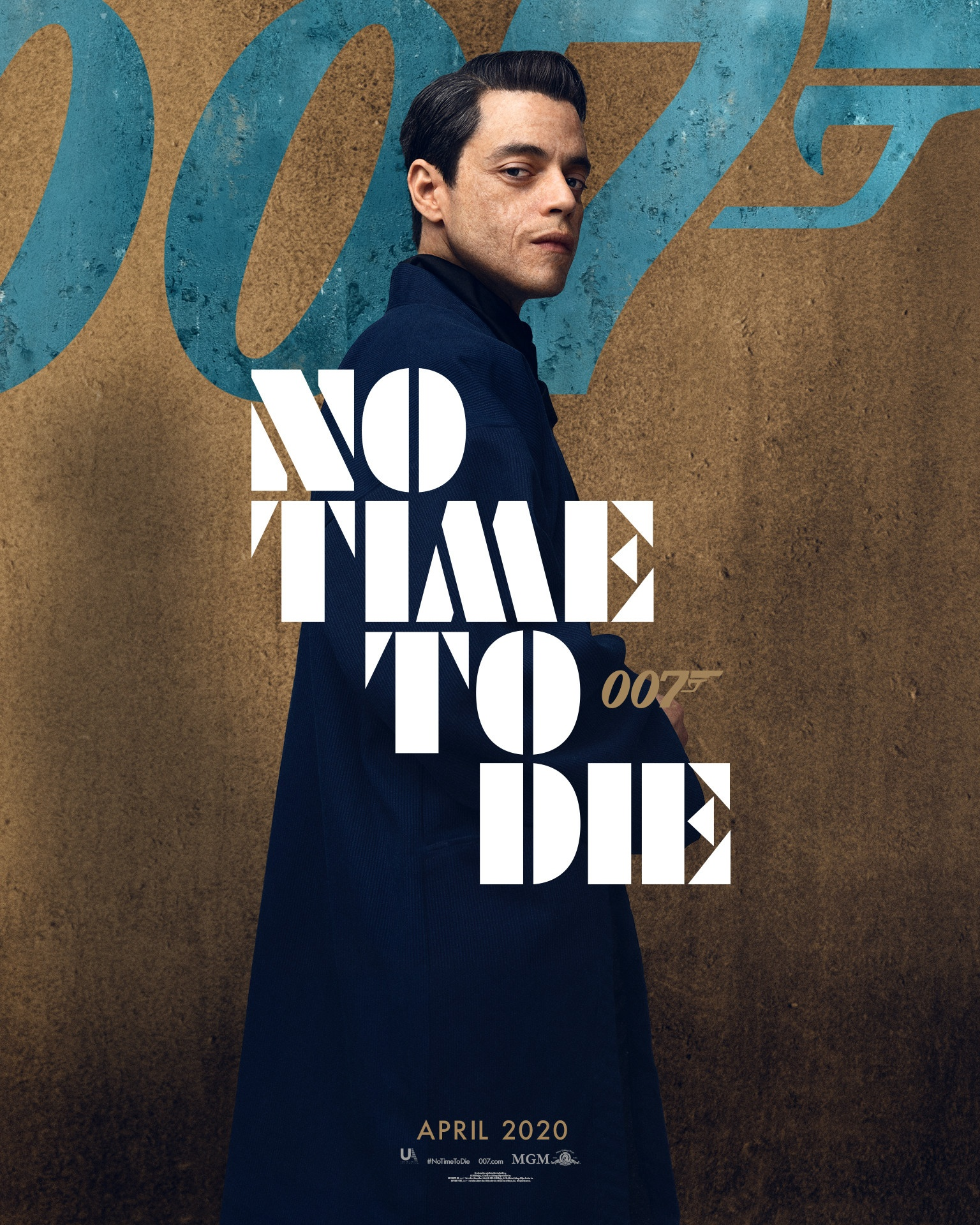Rami Malek interpreta Safin in No Time To Die