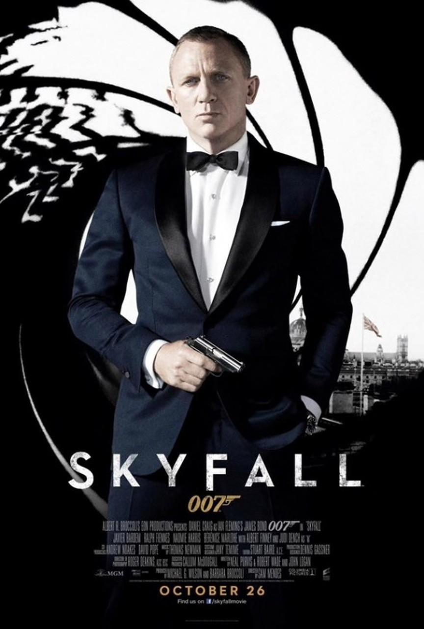Il poster di Skyfall