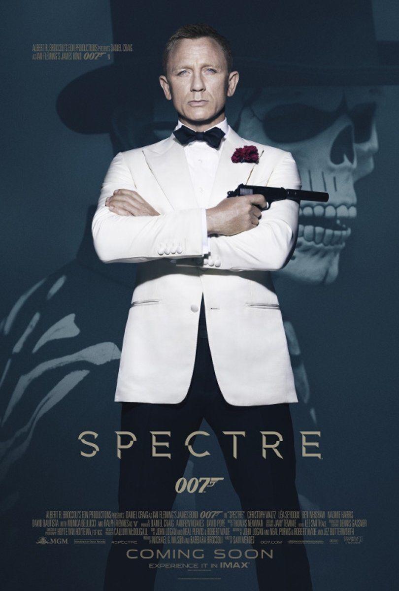 Il poster di Spectre