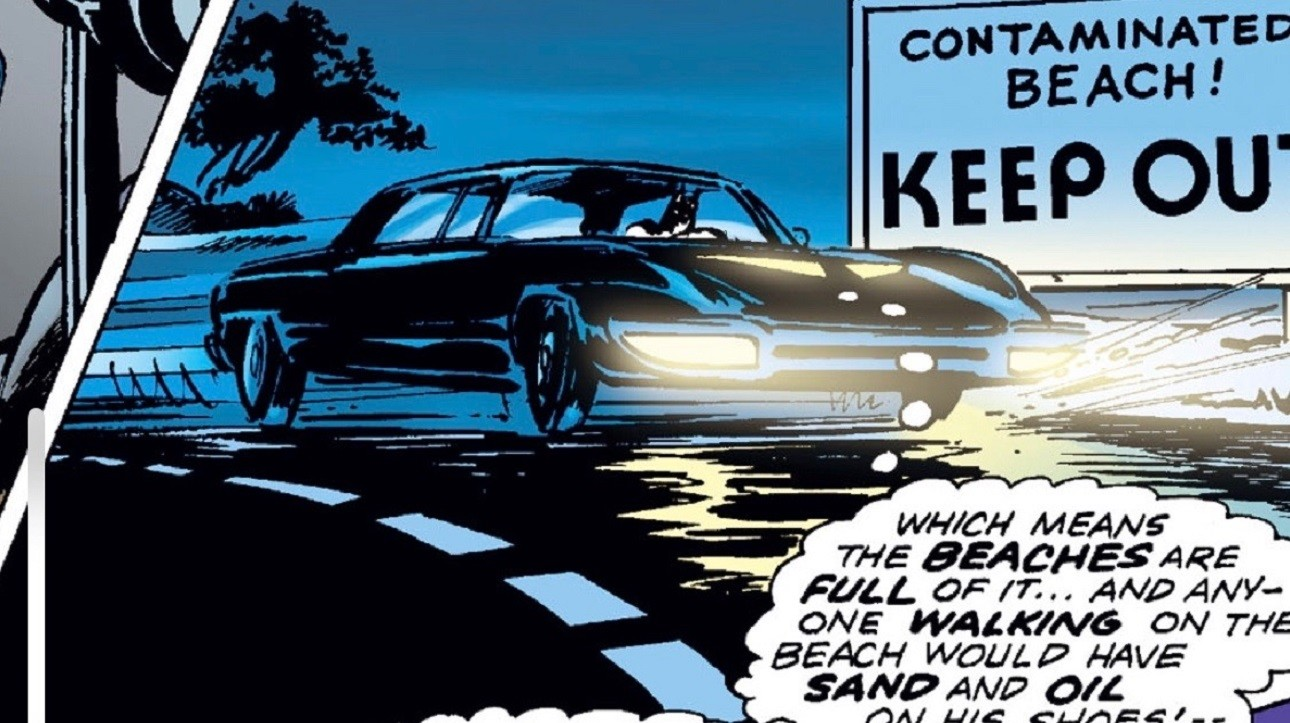 La Batmobile di Neal Adams
