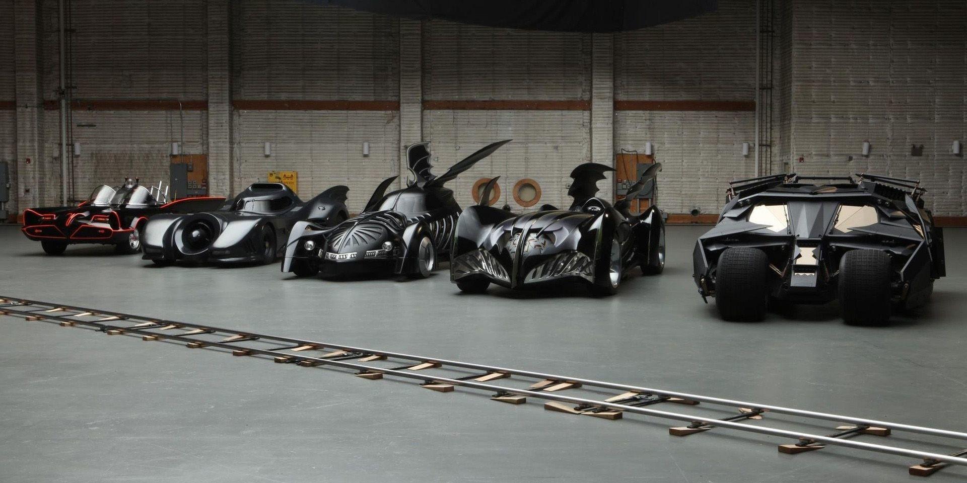 Tutte le Batmobili della storia di Batman