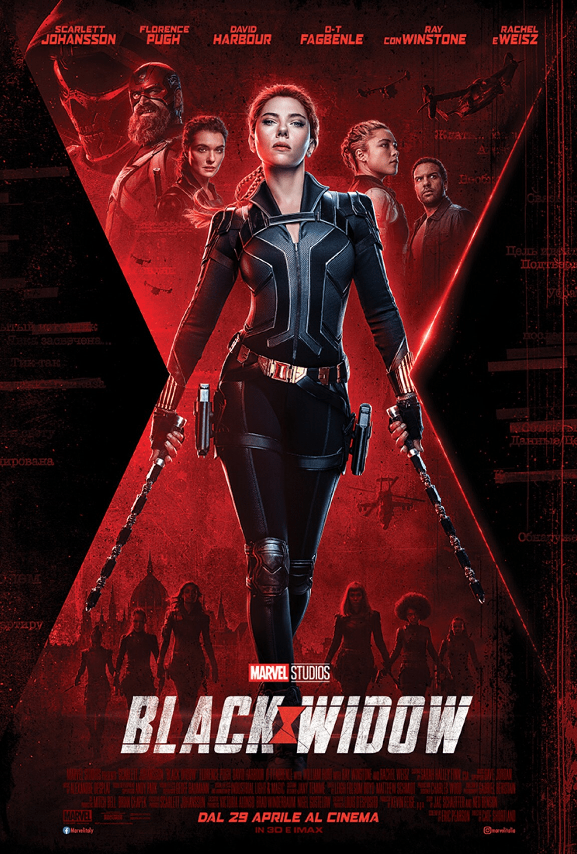 Black Widow trailer finale poster