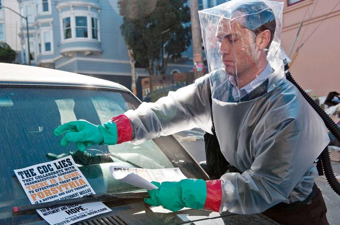 Jude Law pronto a prova di Coronavirus COVID-19